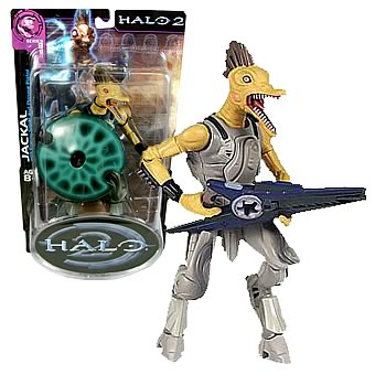Halo 2 Sniper Jackal Action Figure