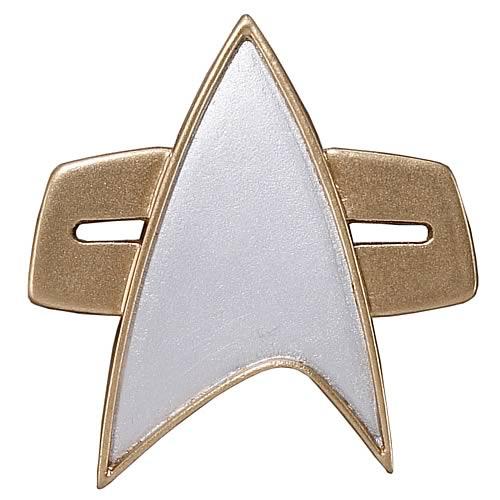 Star Trek Starfleet 2370S Combadge Replica