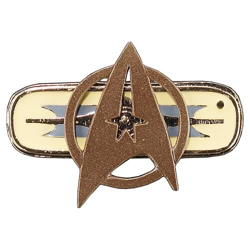 Star Trek Federation Officer Jacket Insignia Replica