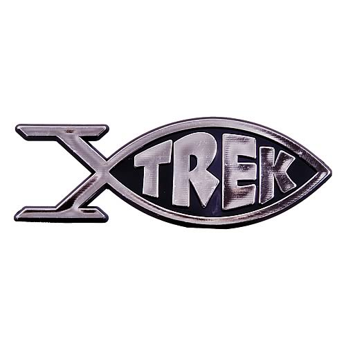 Star Trek Roddenberry Trek Fish Emblem