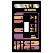 Star Trek LCARS Light Switch Cover
