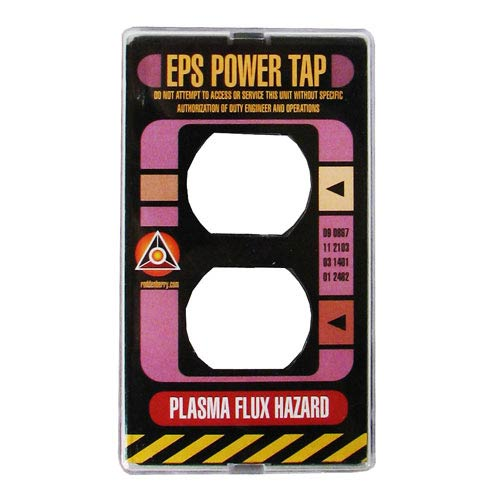 Star Trek TNG Power Plate Electrical Outlet Cover