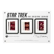 Star Trek Original Series Film Cell Display