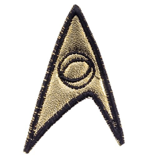 Star Trek: TOS 3rd Season Starfleet Science Officer Patch