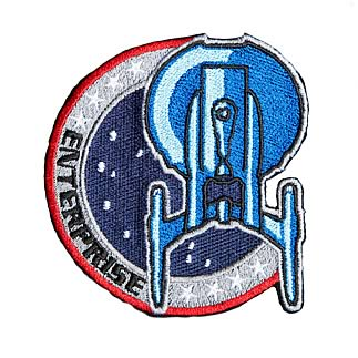 Star Trek Enterprise Uniform Patch