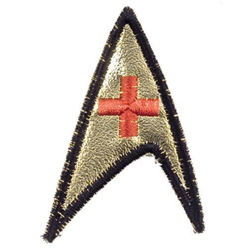 Star Trek Original Series Red Cross Insignia Patch