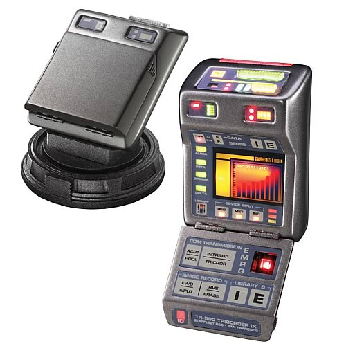 Star Trek Mark IX Science Tricorder Prop Replica
