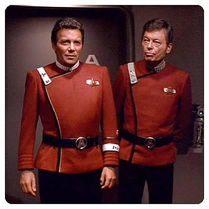 Star Trek Starfleet Male Officer Duty Uniform Jacket Pattern