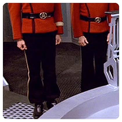 Star Trek Starfleet Officer Duty Uniform Trouser Pattern