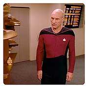 Star Trek TNG Starfleet Male Duty Jumpsuit Pattern