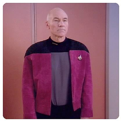 Star Trek TNG Captain Alternate Uniform Jacket Pattern
