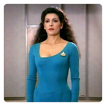 Star Trek TNG Counselor Female Dress Uniform Pattern