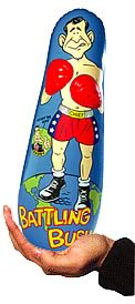 Battling Bush 7-inch Bop Bag