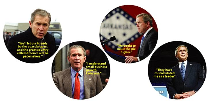 George W. Bush Coasters Series 1