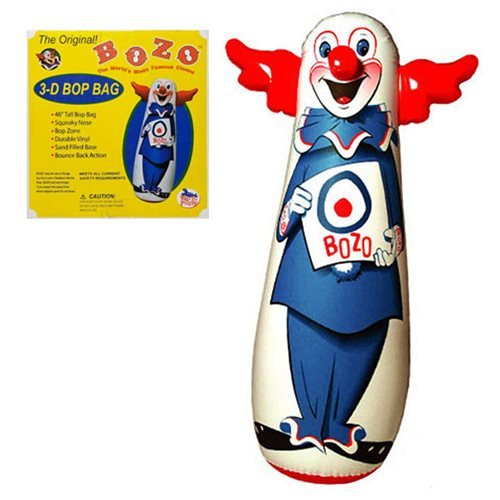 Bozo The Clown 46-Inch Bop Bag