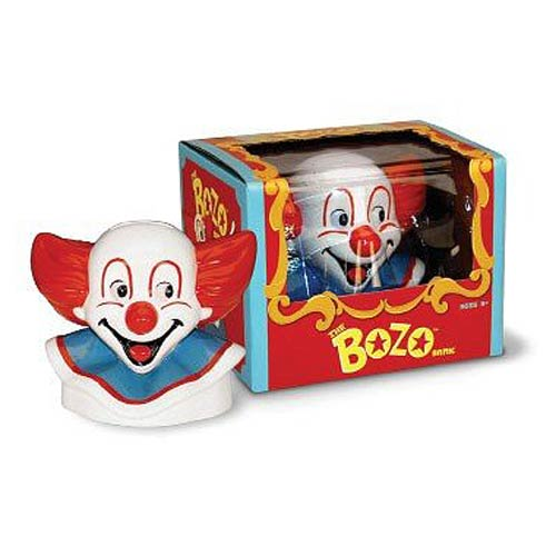Bozo the Clown Ceramic Savings Bank