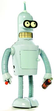 Futurama Bender Tin Toy