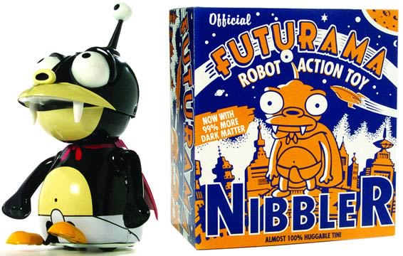 Nibbler Tin Toy