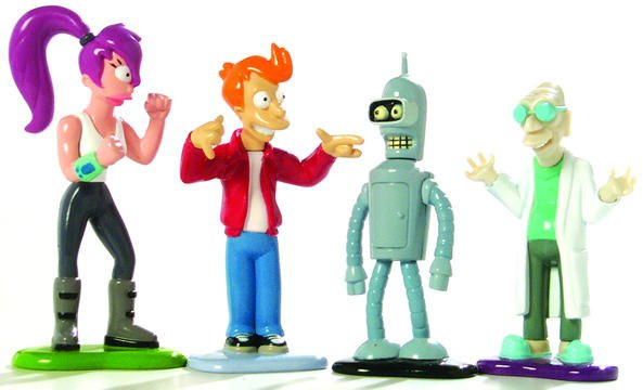 Futurama Die-Cast Series 1 Set