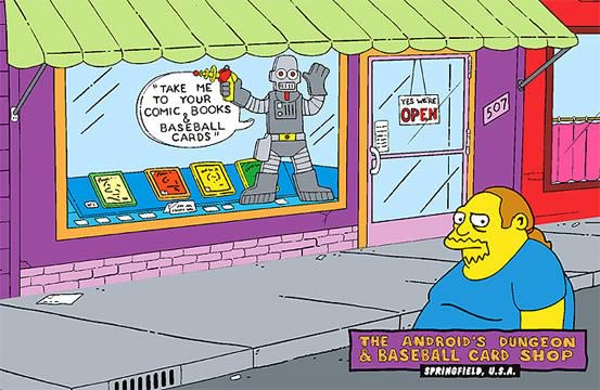 Comic Book Guy Tin Sign