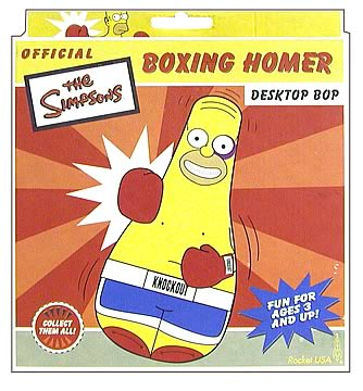 Boxing Homer Bop Bag
