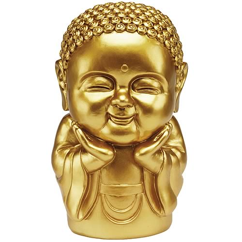 Gold 8-Inch Buddha Bank