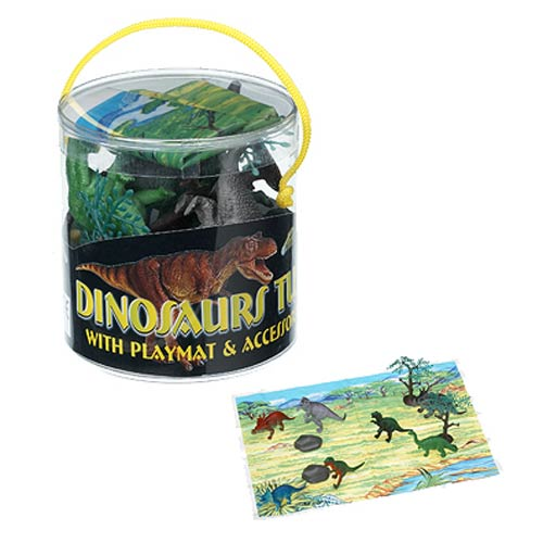 Dinosaur Tub of Toys Mini-Figure Set