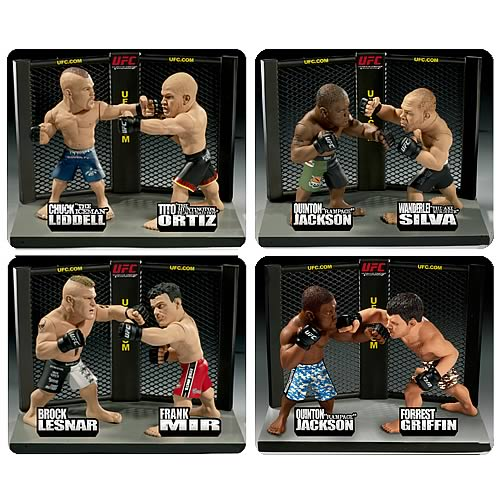 UFC Versus Series 1 Action Figure 2-Pack Set
