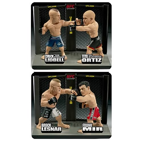 UFC Versus Limited Edition 2-Pack Figure Set