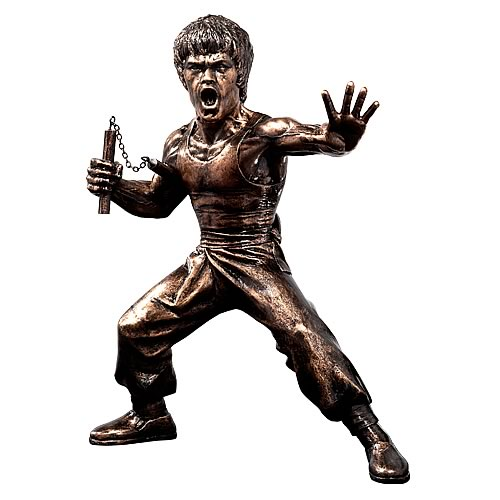 Bruce Lee Honour 9-Inch Bronze Commemorative Statue