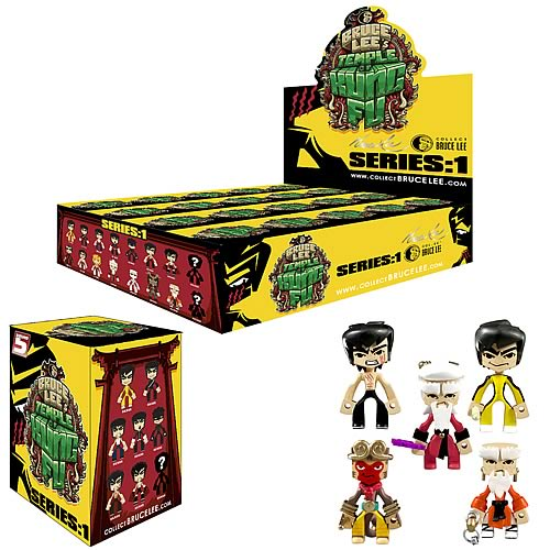 Bruce Lee Temple of Kung Fu Blind Box Figures Display Box