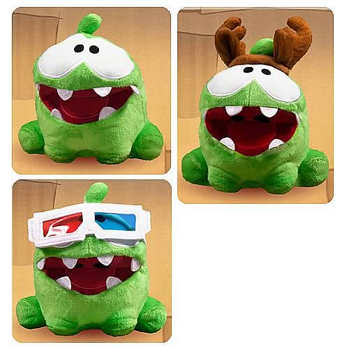 Cut the Rope 5-Inch Pose-N-Play Plush Case