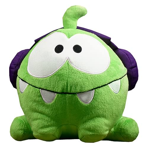 Cut the Rope 8-Inch DJ Box Om Nom Plush