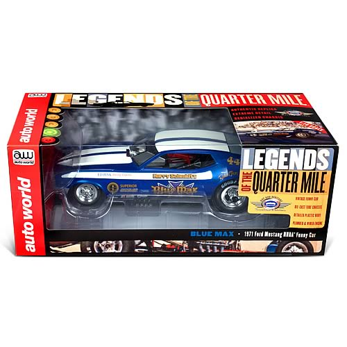 1971 Ford Mustang Blue Max 1:18 Scale Funny Car