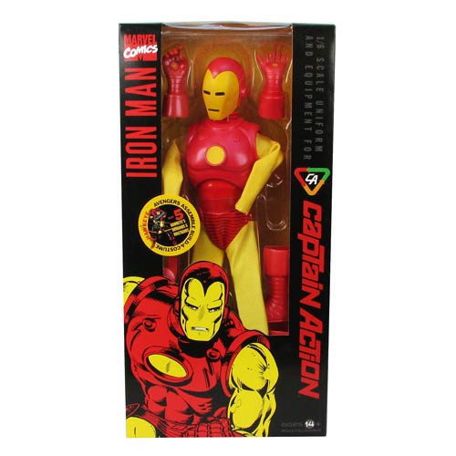 Captain Action Iron Man Costume Accessory Pack