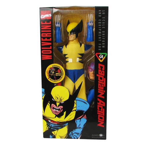 Captain Action Wolverine Costume Accessory Pack