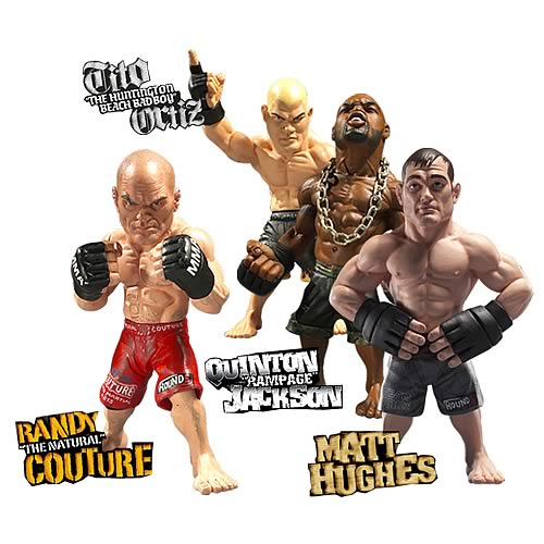 World of MMA Champions Wave 1 Action Figure Set