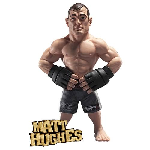 World of MMA Champions Wave 1 Matt Hughes Action Figure