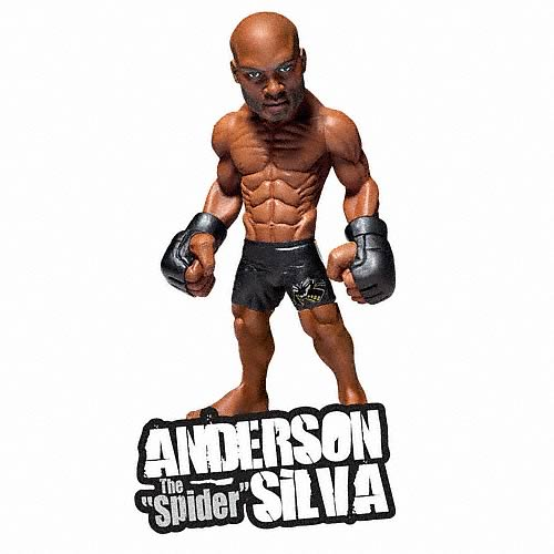 World of MMA Champions Wave 2 Anderson Silva Action Figure