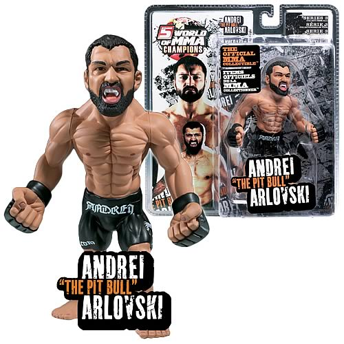 Andrei Arlovski Figure, mixed martial arts, Round 5