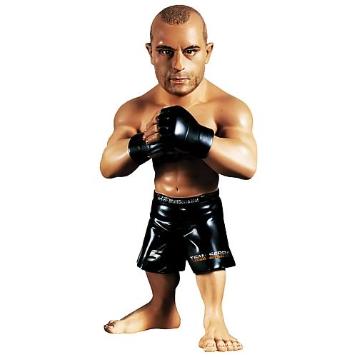 World of MMA Champions Matt Serra Figure