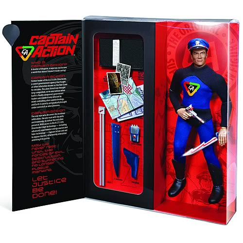 Captain Action Deluxe Retro Action Figure