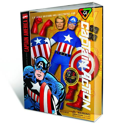 Captain Action Captain America Deluxe Costume Accessory Pack