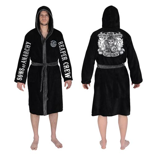 Sons of Anarchy Reaper Crew Cotton Bathrobe