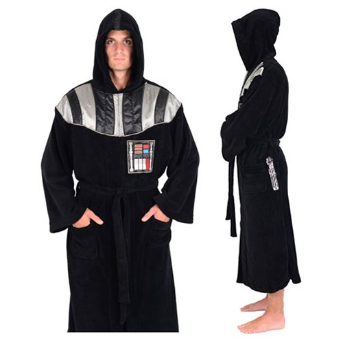 Star Wars Darth Vader Hooded Fleece Bathrobe