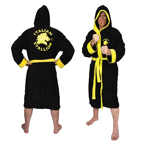 Rocky Balboa Cotton Bathrobe