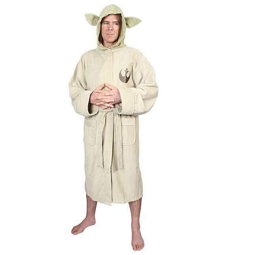 Star Wars Yoda Cotton Bathrobe