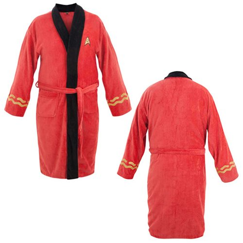 Star Trek Original Series Scotty Cotton Bathrobe
