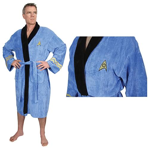 Star Trek Original Series Spock Cotton Bathrobe