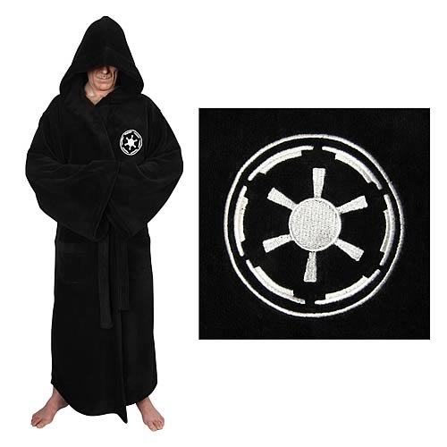 Star Wars Galactic Empire Sith Fleece Bath Robe